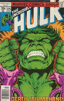 The Incredible Hulk 225 - Is There Hulk After Death?