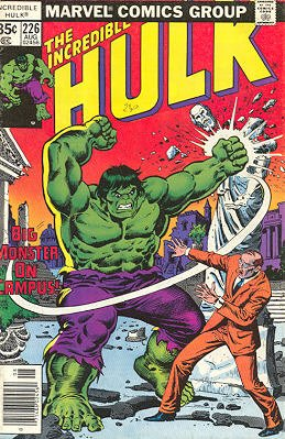 The Incredible Hulk 226 - Big Monster on Campus!
