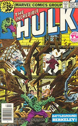 The Incredible Hulk 234 - Battleground: Berkeley!