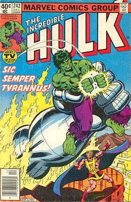 The Incredible Hulk # 242