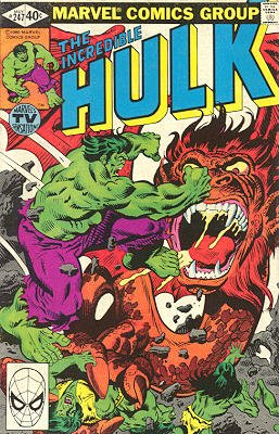 The Incredible Hulk # 247