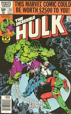 The Incredible Hulk # 251