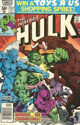 The Incredible Hulk # 252