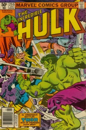 The Incredible Hulk # 255