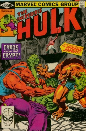 The Incredible Hulk # 257