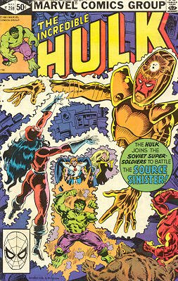 The Incredible Hulk # 259