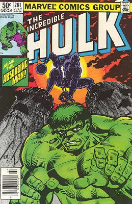 The Incredible Hulk # 261