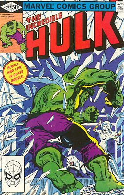 The Incredible Hulk # 262