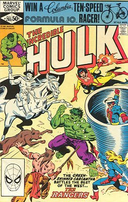 The Incredible Hulk # 265