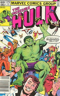 The Incredible Hulk # 279