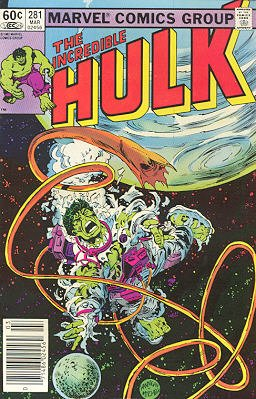 The Incredible Hulk # 281