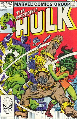 The Incredible Hulk # 282