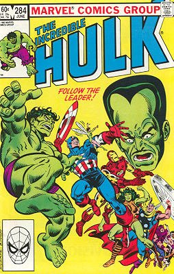 The Incredible Hulk # 284