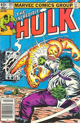 The Incredible Hulk # 285