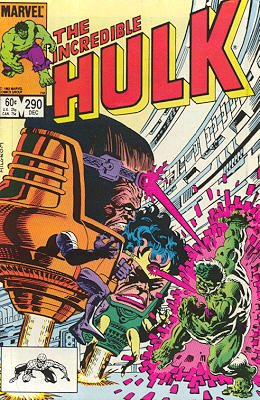 The Incredible Hulk # 290