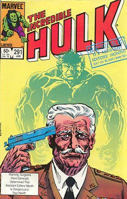 The Incredible Hulk # 291