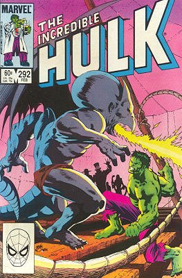 The Incredible Hulk # 292