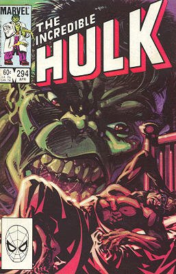 The Incredible Hulk # 294