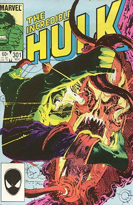 The Incredible Hulk # 301