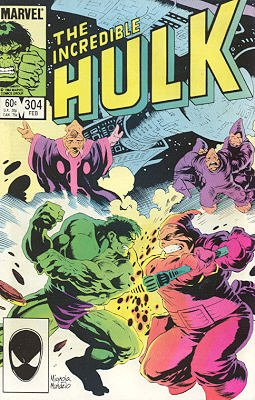 The Incredible Hulk # 304