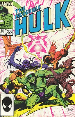 The Incredible Hulk # 306