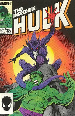 The Incredible Hulk 308 - ...And Here There Be -- Demons!