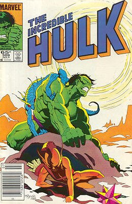 The Incredible Hulk # 309