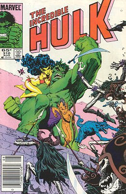 The Incredible Hulk # 310