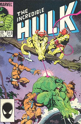 The Incredible Hulk # 313