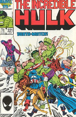 The Incredible Hulk # 321
