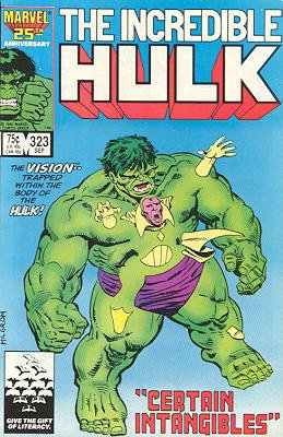 The Incredible Hulk # 323