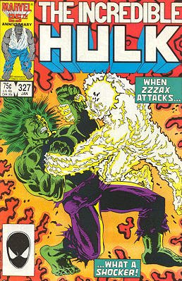 The Incredible Hulk # 327