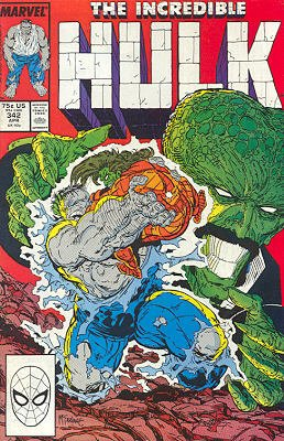 The Incredible Hulk # 342