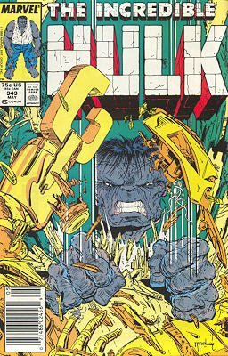 The Incredible Hulk # 343