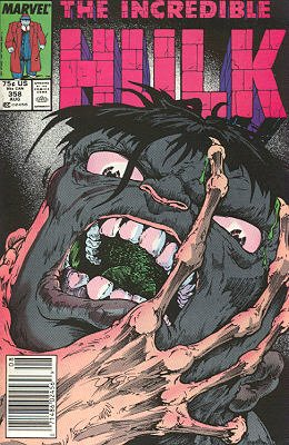 The Incredible Hulk # 358