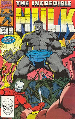 The Incredible Hulk # 369