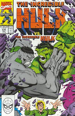 The Incredible Hulk # 376
