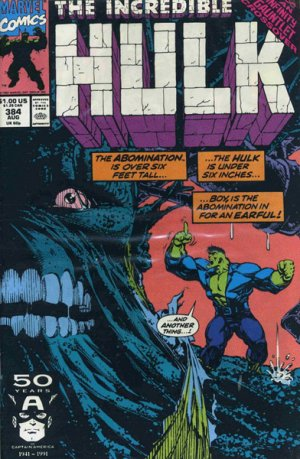 The Incredible Hulk # 384