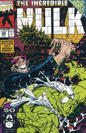 The Incredible Hulk # 385 Issues V1 Suite (1968 - 1999)