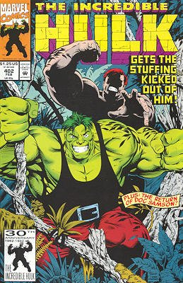 The Incredible Hulk # 402