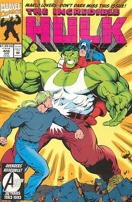 The Incredible Hulk # 406