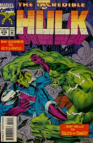The Incredible Hulk # 419