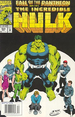 The Incredible Hulk # 424
