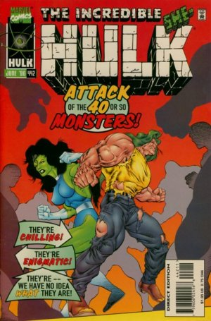 The Incredible Hulk # 442