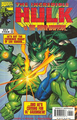 The Incredible Hulk # 469