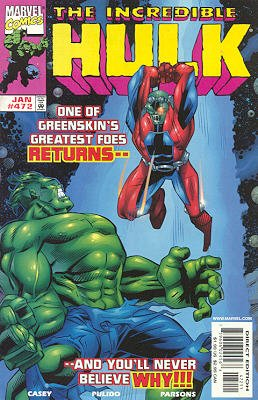 The Incredible Hulk # 472