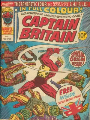 Captain Britain # 1 Issues V1 (1976 - 1977)