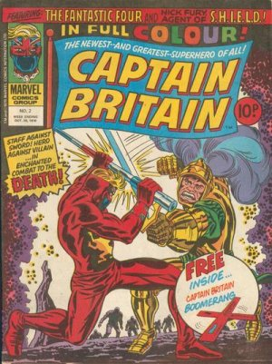 Captain Britain # 2 Issues V1 (1976 - 1977)
