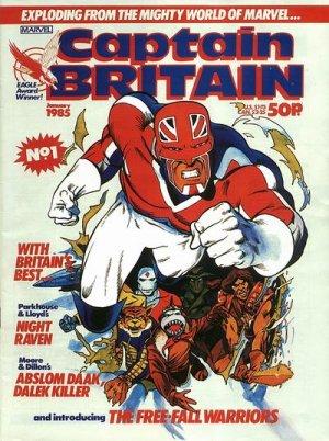 Captain Britain édition Issues V2 (1985 - 1986)