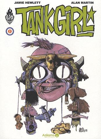 Tank Girl # 2 TPB Hardcover (cartonnée) (2010)